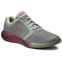 Кроссовки женские для бега и тренировок Skechers GO RUN 600-SPECTRA серый/роз арт.15067-CCPK