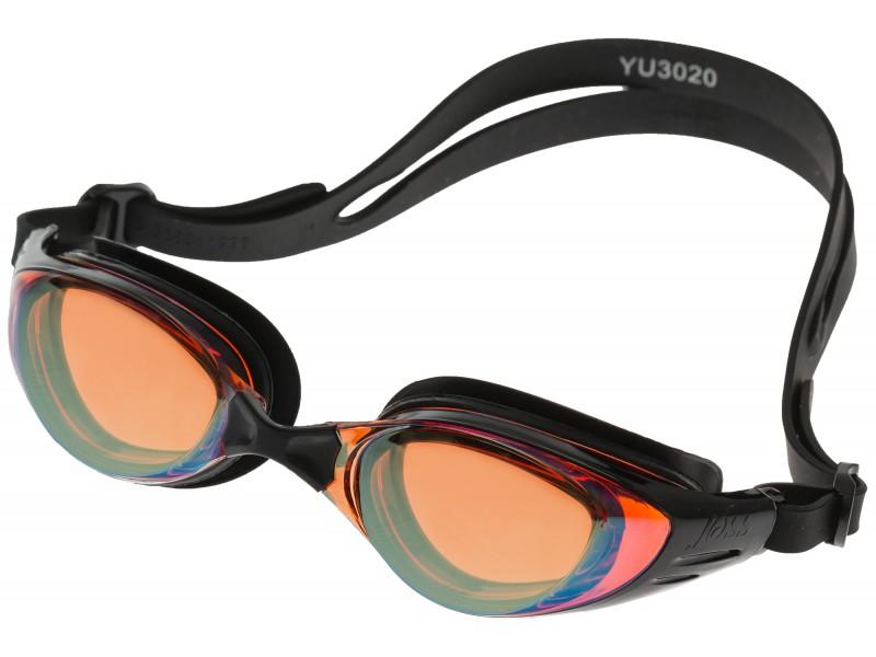 Очки для плавания для взрослых Joss чёрный арт.YU3020-99