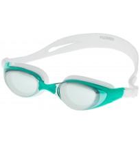 Очки для плавания для взрослых Joss Swim Goggles белый/зеленый арт.YU3020-WU