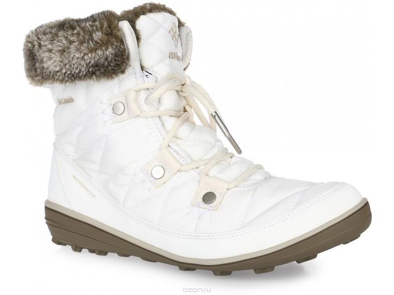 Ботинки женские утепленные Columbia HEAVENLY SHORTY бежевый арт.1691541-125