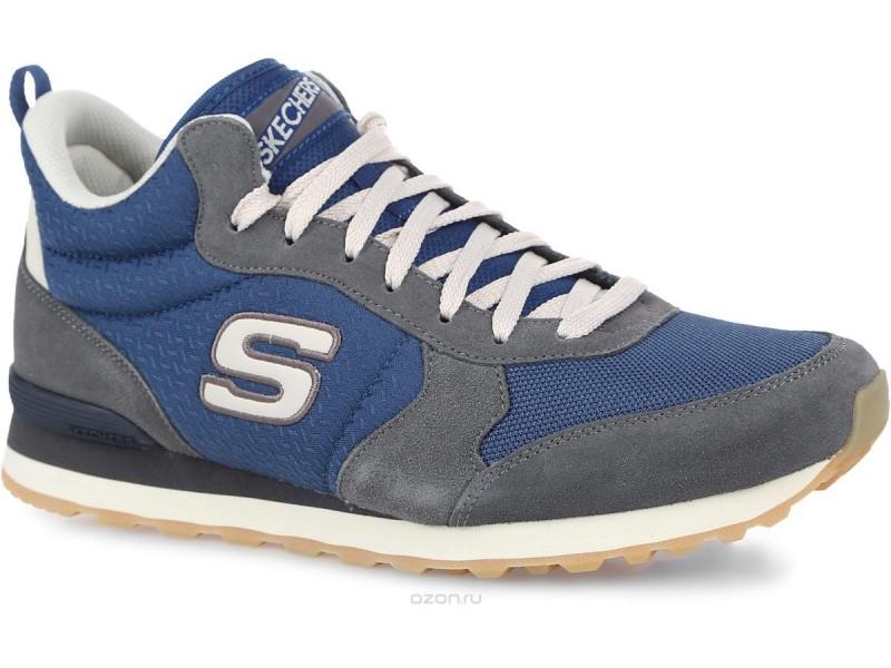 Кеды мужские Skechers OG- 85  серый/голубой арт. 52330-GYBL