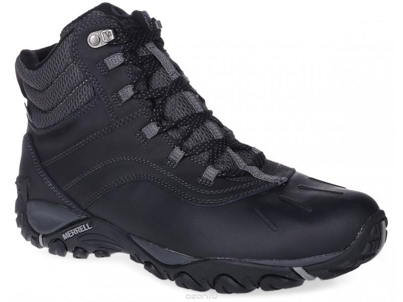 Ботинки мужские утепленные Merrell ATMOST MID WTPF черный/серый арт.311402C