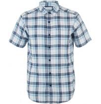 Рубашка мужская Columbia Under Exposure™ синяя клетка арт.1715221-493