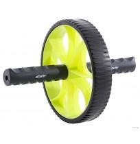 Колесо гимнастическое STARFIT, зеленый/черный арт.RL-103