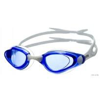 Очки для плавания (бел/син) Atemi, арт.B401