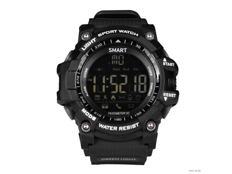 Умные часы Miru спортивные черно-синие EX16
