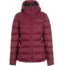 Куртка пуховой женский Columbia Hellfire™ Hooded Down  бордо арт.1566861-663