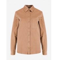 Рубашка женская  кофейный 111797-T2