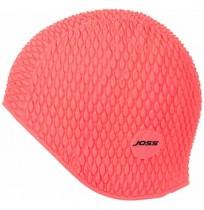 Шапочка для плавания Joss рельефная пионовый  арт.WHC02A7-81