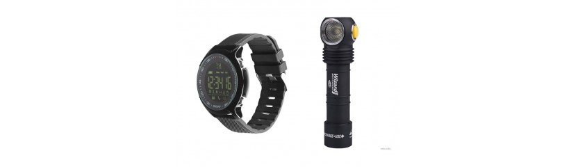 Крутые фонарики и спортивные часы