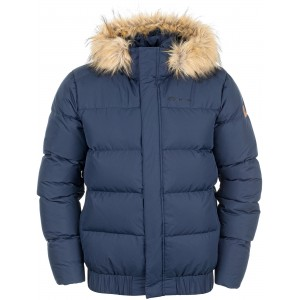 Куртка пуховой мужской Ountenture темно-синий арт.A18AOUJAM05-Z4