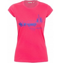 Футболка женская Outventure Women's T-shirt малиновый арт.A18AOUTSW04-82