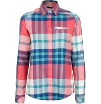 Рубашка женская Outventure красный арт.A18AOUSRW01-H1