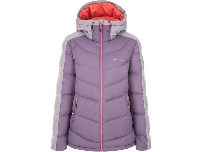 Куртка пуховая женская Outventure фиолетовый арт.A18AOUJAW01-P3