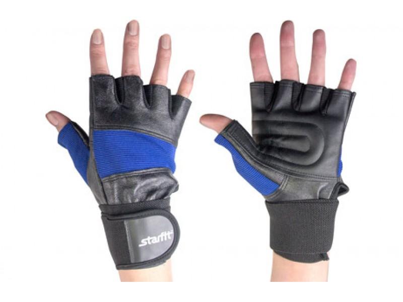 Перчатки для зала STARFIT арт.SU-109-BL-L