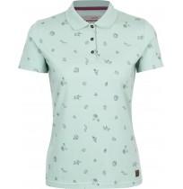 Рубашка-поло Outventure женская зелёный арт.S18AOUPOW01-U9