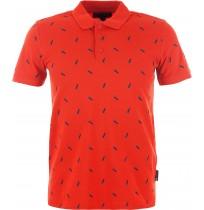 Рубашка-поло мужская Ounventure красный арт.S18AOUPOM03-H2