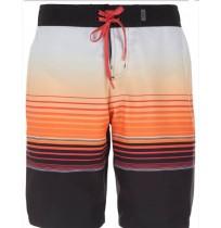 Шорты пляжные мужские TERMIT черный/оранжевый арт.S18ATESHM09-BE