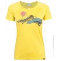 Футболка женская Merrell желтый арт.S18AMRTSW05-61