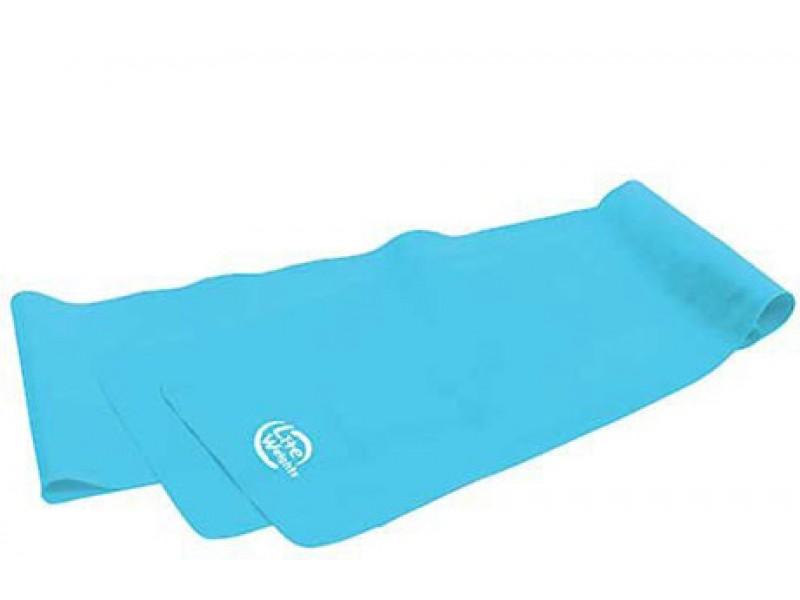 Эспандер-лента Lite Weights 120x15x0,65 см, голубой арт.1540LW