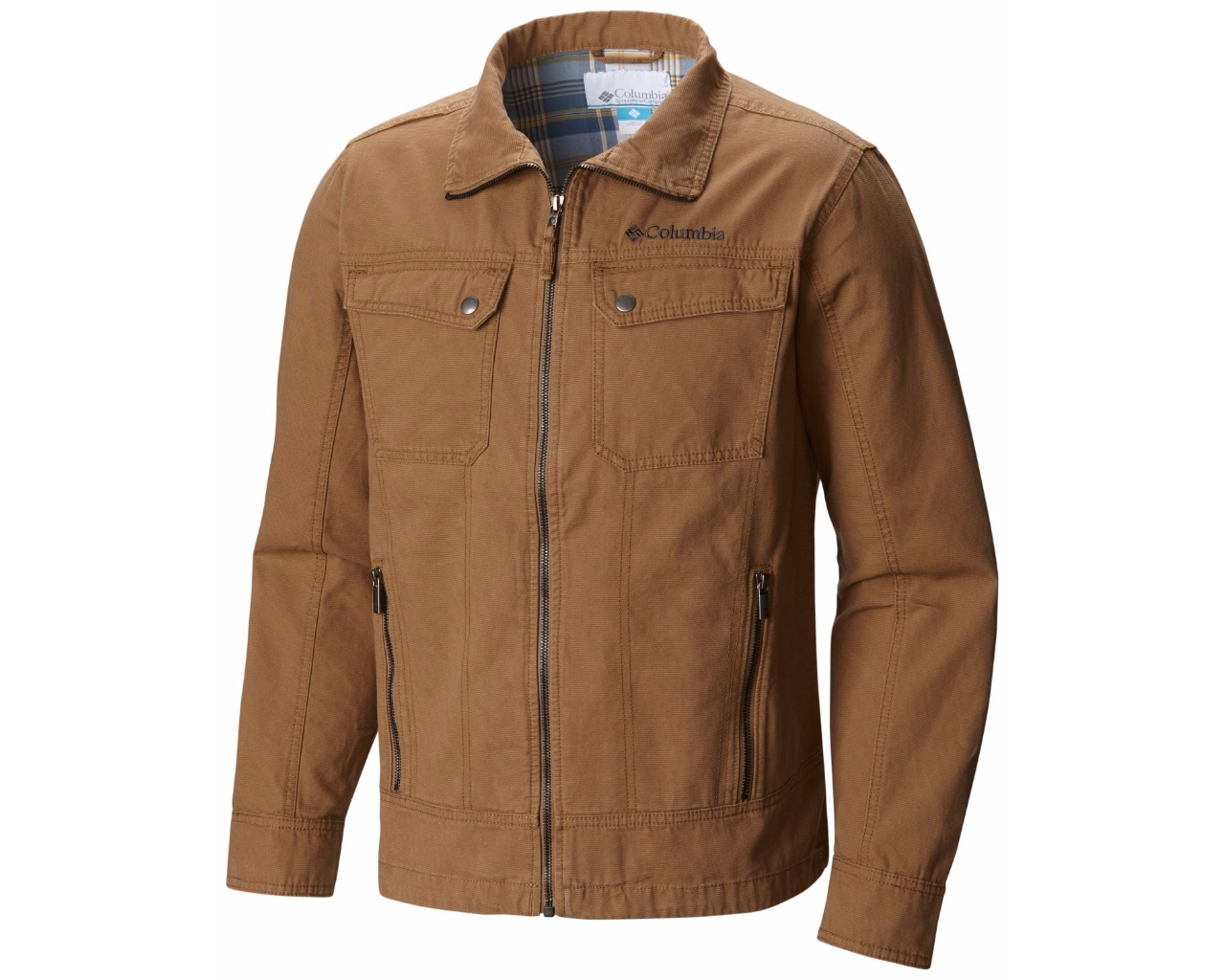 Sale Куртка-ветровка мужская Columbia Rough Country™ коричневый  арт.1580181-257 d9cd18f1169