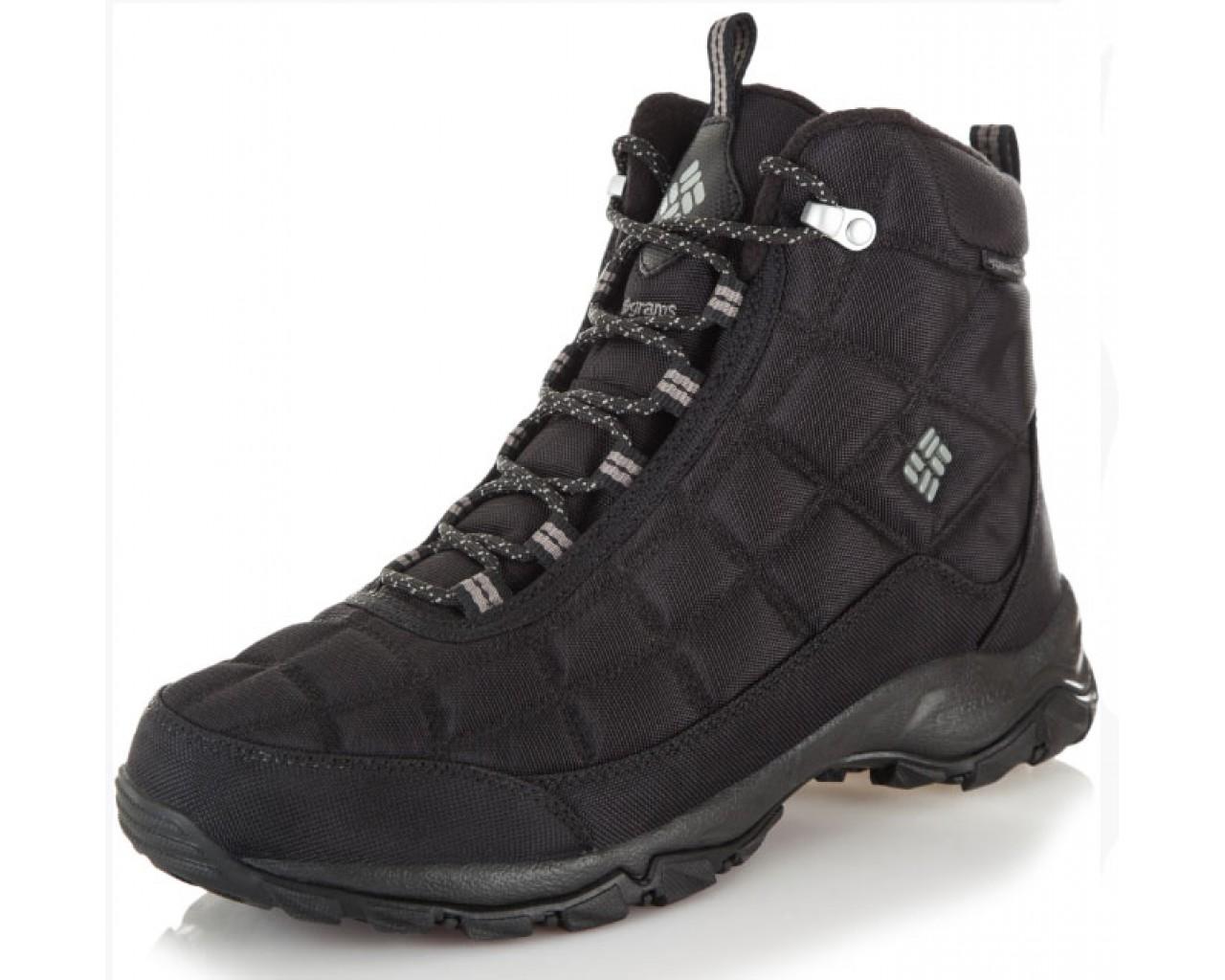 7870ca9e0f4 Ботинки мужские Columbia FIRECAMP™ BOOT черный арт.1672881-012