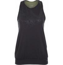 Майка для фитнеса Demix женская черный/зеленый арт.S18ADESIW06-BU