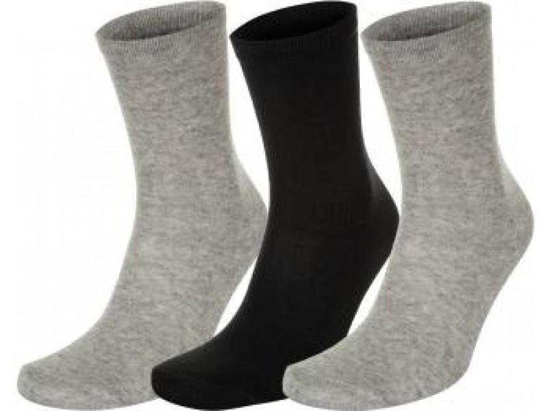 Носки для фитнеса (3 пары) Demix серый/черный арт.A18ADESOM03-AB