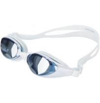 Очки для плавания Joss для взрослых белый/синий арт.AAG12A7-WM