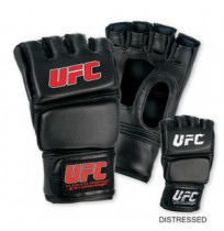 Перчатки UFC Бои без правил Model D110 leather black Size L