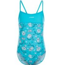 Купальник для девочек голубой/белый р.104 A19AJSWSK01-QW