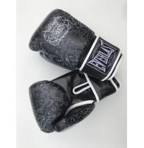 Перчатки боксерские Everlast Model D106 PU black Size