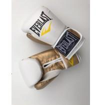 Перчатки боксерские EVERLAST Model D104 PU white