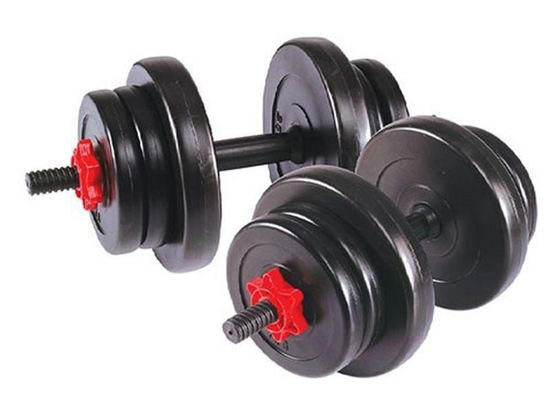 Гантель сборная 10 кг х 2 шт арт.2327LW