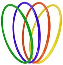 Обруч пластиковый гимнастический арт.D750