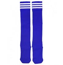 Гетры футбольные, р. 37-40 (синий/белый) арт.3740-СБ