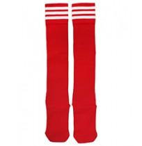 Гетры футбольные, р. 37-40 (красный/белый) арт.3740-КБ