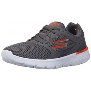Кроссовки мужские для бега Skechers GO MOVE серый/оранжевый арт.54350-CCOR