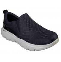 Слипоны мужские Skechers GO WALK синий/серый арт.54738-NVGY