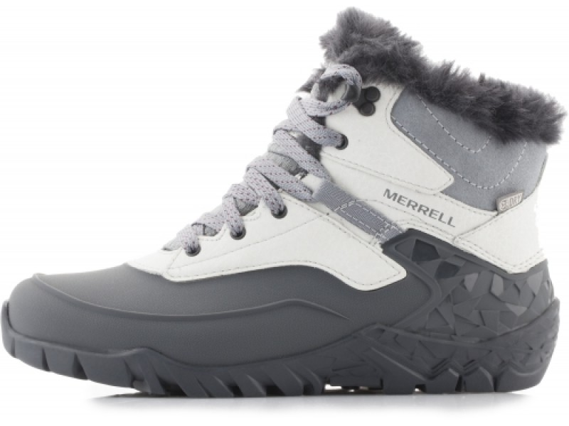 Ботинки женские утеплённые Merrell AURORA 6 ICE+ WTPF светло-серый арт.37224