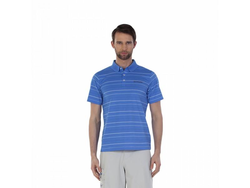 Рубашка-поло мужская Columbia Sweat Threat™ голубой арт.1579911-995