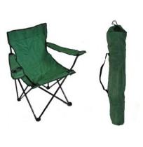 Стул складной (кресло) 52х52х85 см зеленый, C-015