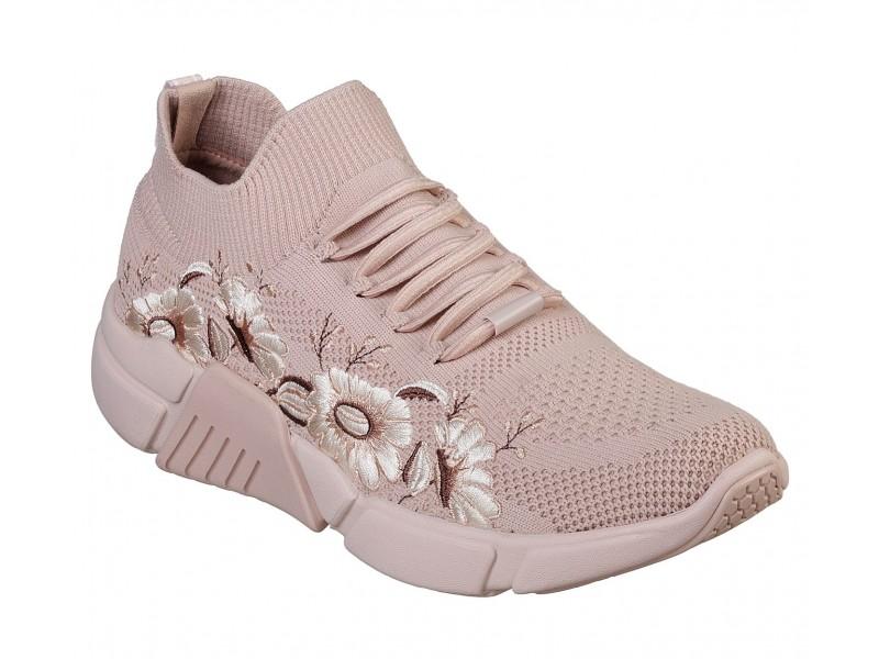 Кроссовки женские Skechers BLOCK - POPPY розовый арт.68824-PNK