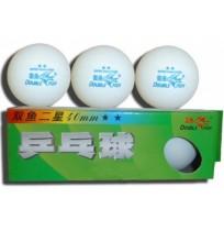 Мячи для настольного тенниса Double Fish  2зв. (3 шт.) B211F