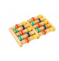 Массажер деревянный с резиновыми роликами Bradex арт.KZ 0484