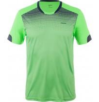 Футболка мужская для футбола Demix салатовый арт.KMET01-G2