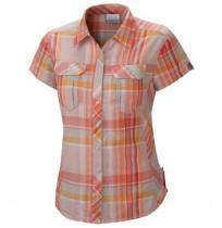 Рубашка женская Columbia Camp Henry™ оранжевая клетка арт.1450311-848