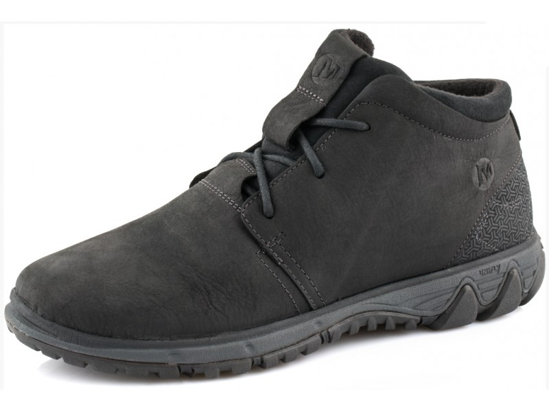 Ботинки мужские  утепленные Merrell ALL OUT BLAZER CHUKKA NORTH черный арт..49649 10