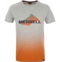 Футболка мужская Merrell серый/оранжевый арт.S18AMRTSM05-AE