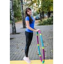 Футболка для фитнеса Demix женская лавандовый арт.S18ADETSW11-V1